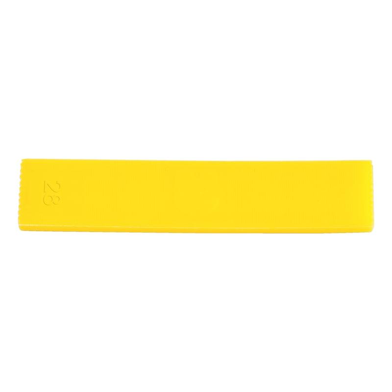 Verglasungsklotz - VERGLASKLTZ-O.RUTSCHSI-28X4