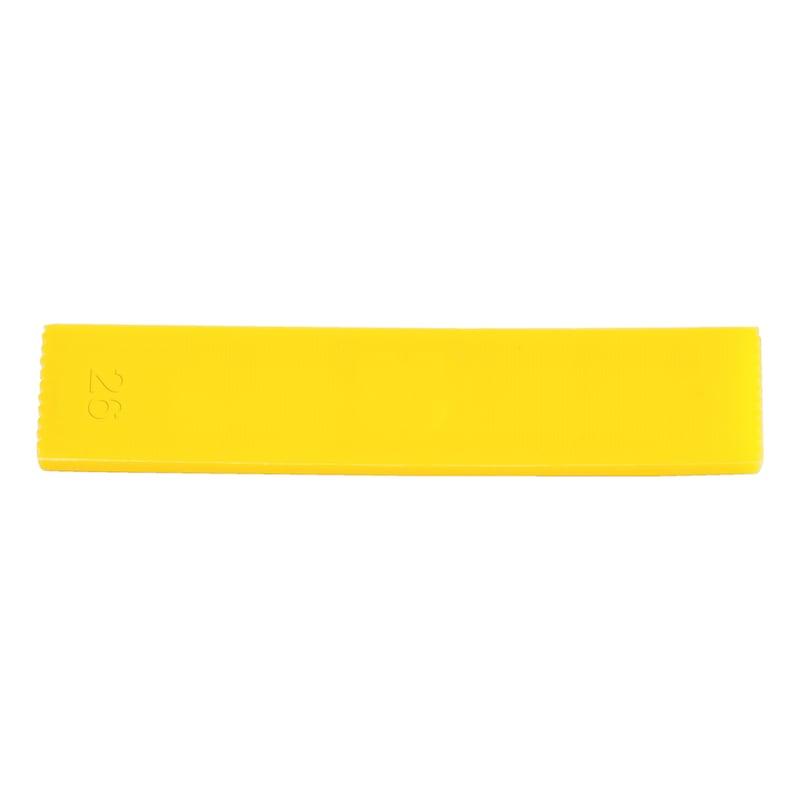 Verglasungsklotz - VERGLASKLTZ-O.RUTSCHSI-26X4