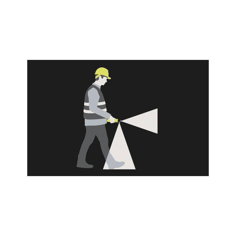 LED-Taschenlampe 4AA SUREFOOT Z0 - 2