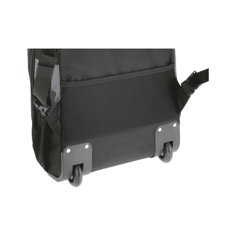Sac à dos à outils avec roulettes  - SAC A DOS TROLLEY A OUTILS 240X517X330MM