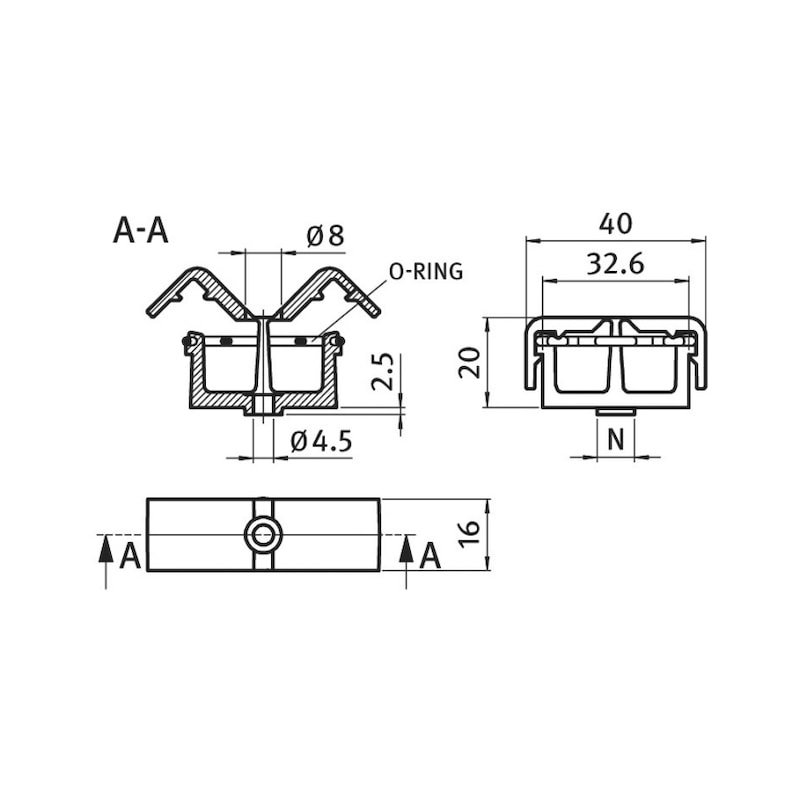 Kabelbinder-Clip - 2