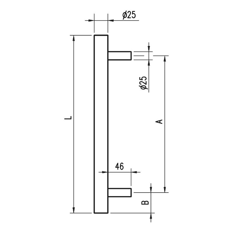 Tirador de puerta  ST/A100 - 2