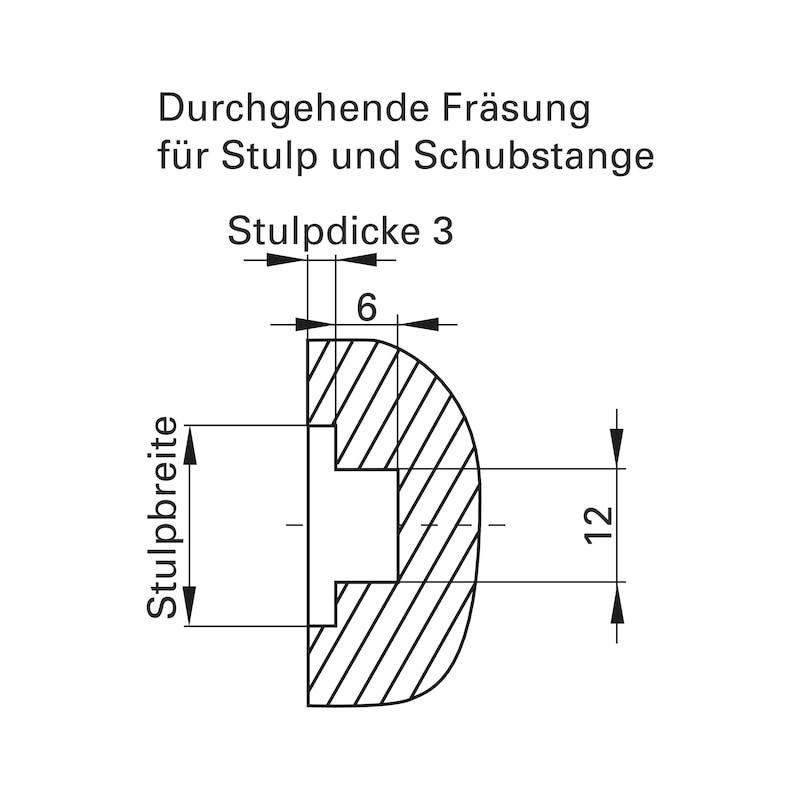 Mehrfachverriegelung Mit 4 V-Zapfen - 7