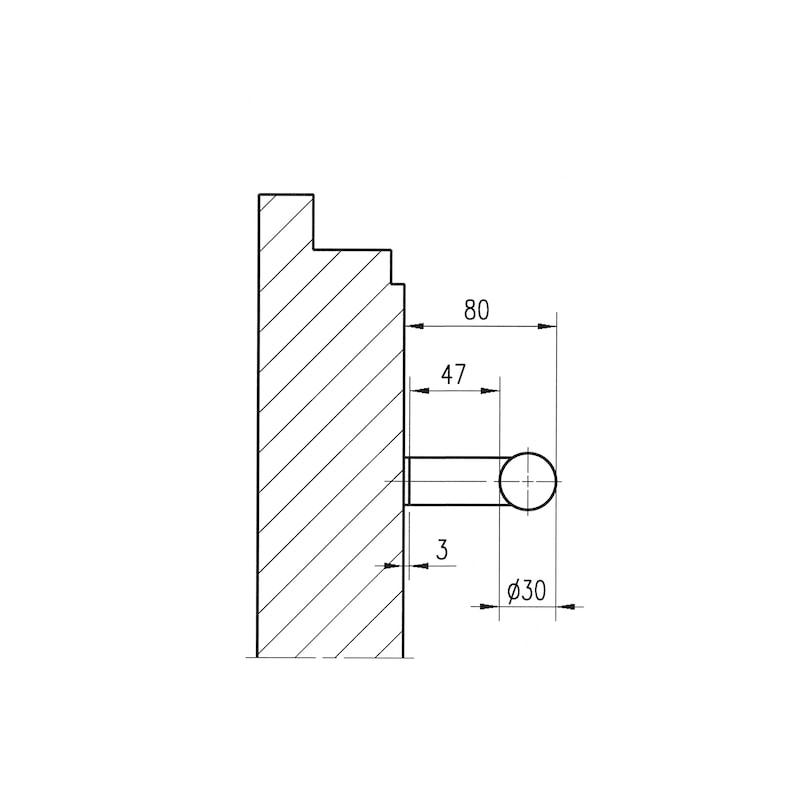 Door handle  ST/A200 - 3
