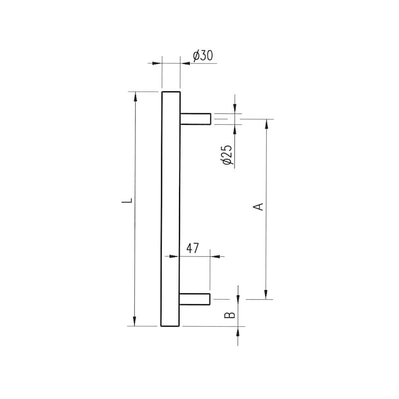 Door handle  ST/A200 - 2