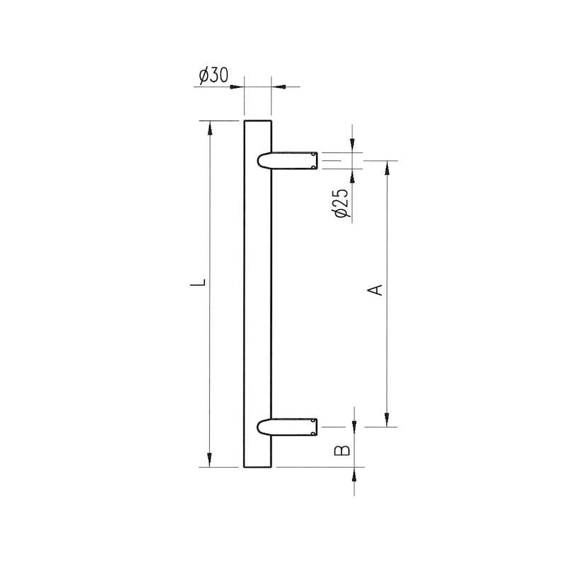 Door handle  ST/A210 - 2