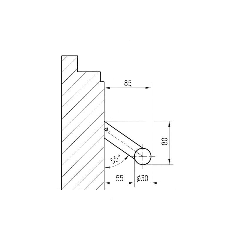 Door handle  ST/A210 - 3