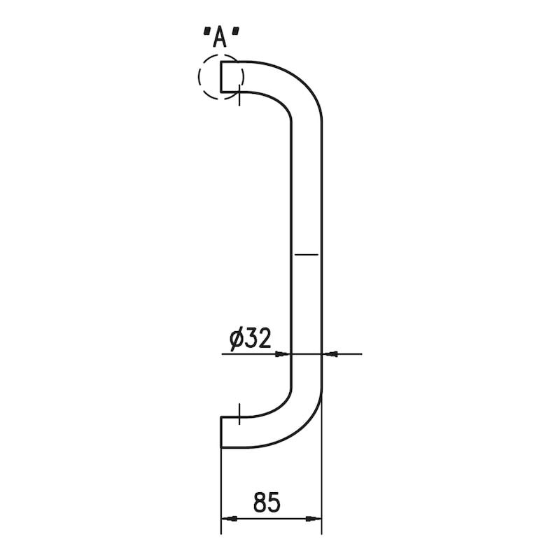 Stoßgriff ST/A300 - 3