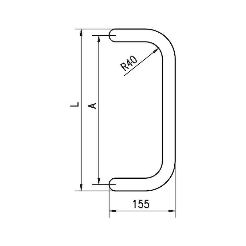 Manilla de puerta  ST/A310 - 2