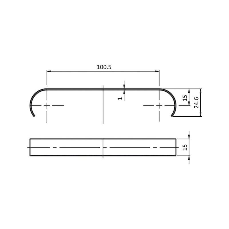 Bremse - BREMS-EDST-D28-100,5X24,6MM