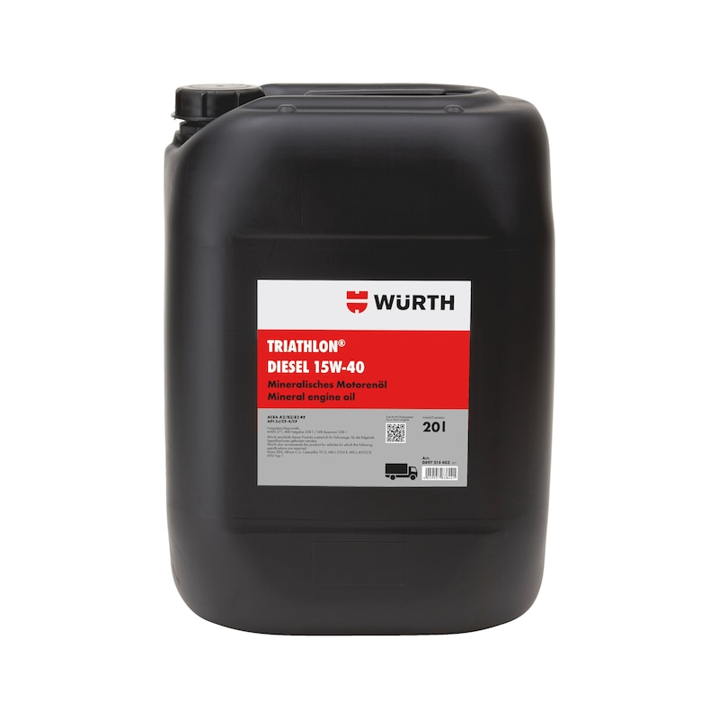 Motoröl TRIATHLON<SUP>®</SUP> Diesel 15W-40