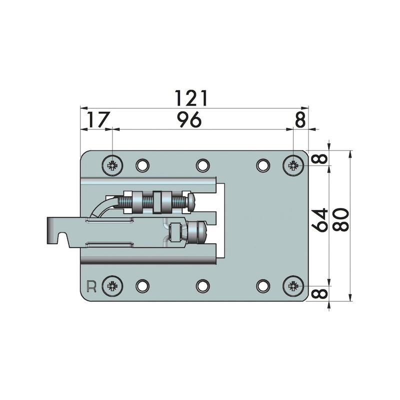 Unterschrankaufhänger XL - 2