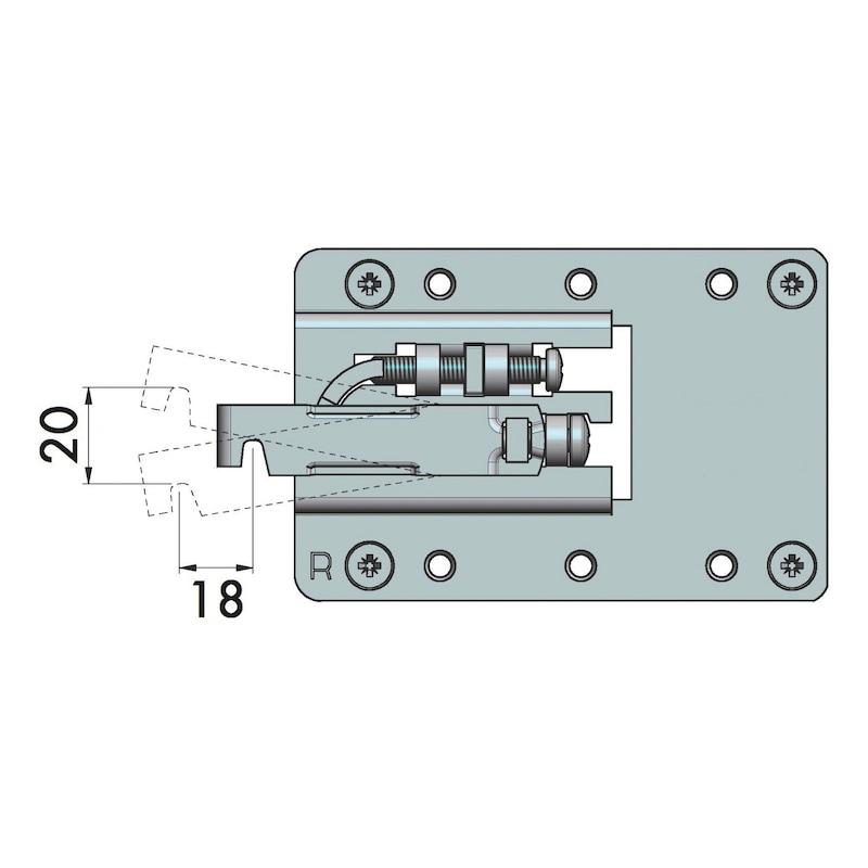 Unterschrankaufhänger XL - 5