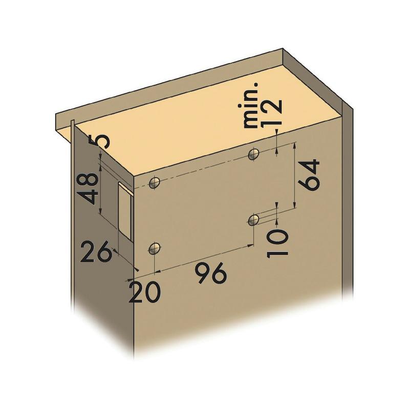 Unterschrankaufhänger XL - 6
