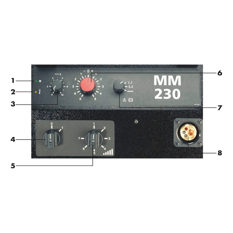 MIG/MAG welding system MM 230 - 2