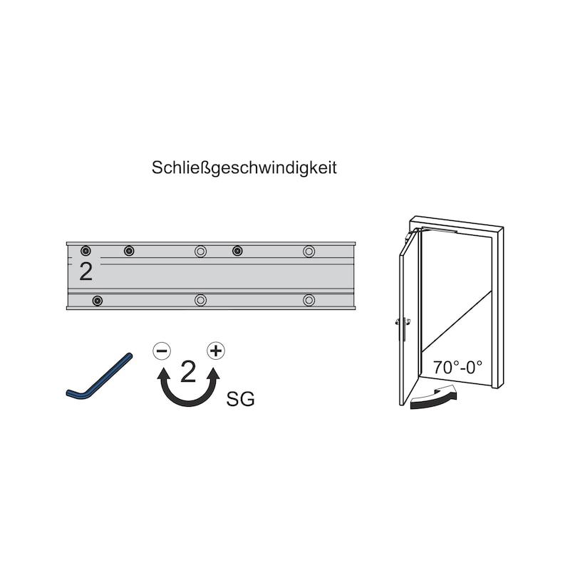Türschließer  GTS 640 G mit Gleitschiene - 6
