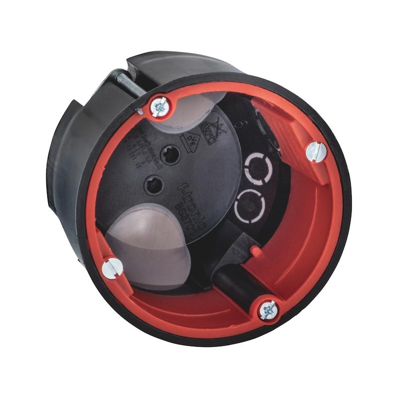 Brandschutz Hohlwand-Geräteverbindungsdose mit Schallschutzfunktion - 1