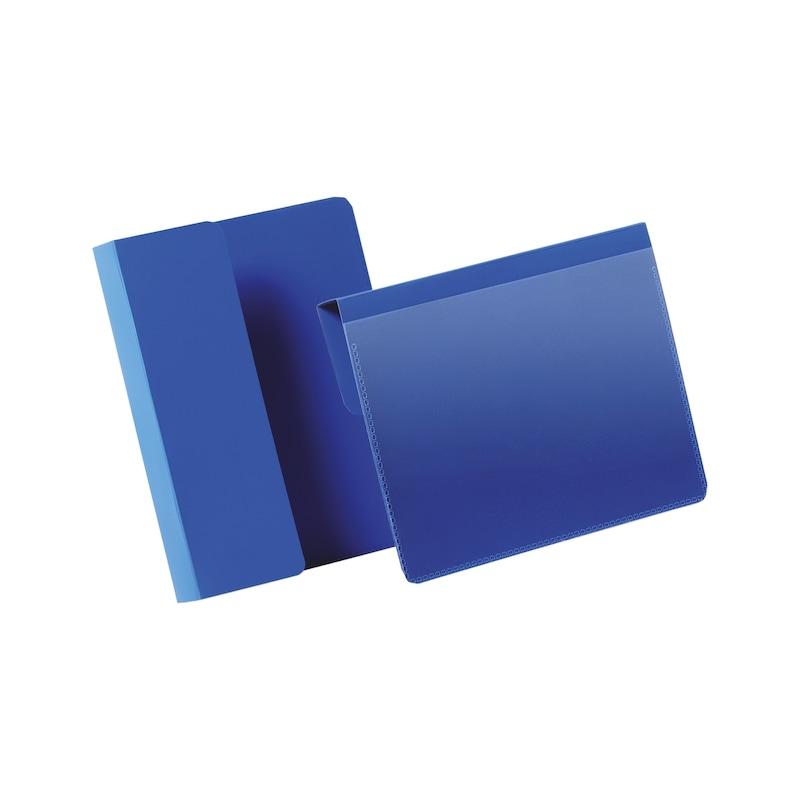 Kennzeichnungstasche mit Falz - 1