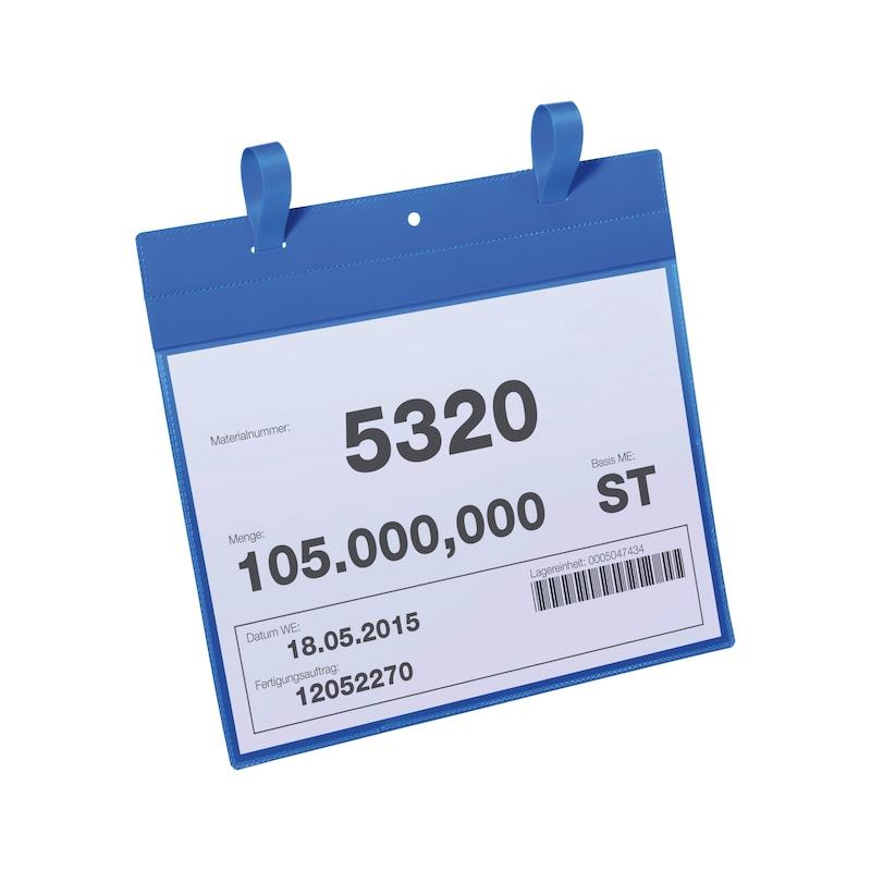 Kennzeichnungstasche für Gitterboxen - 3