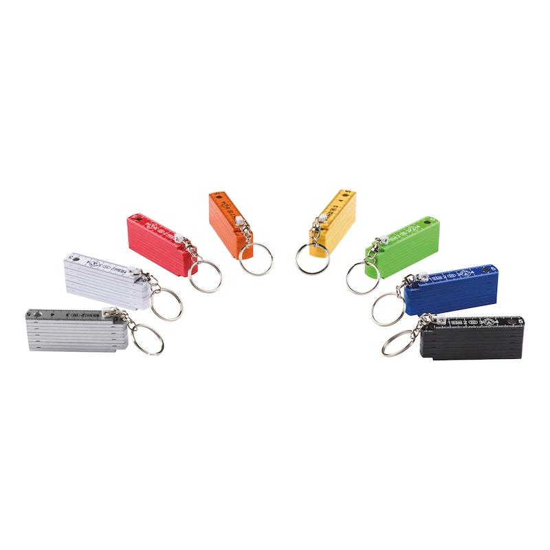 Schlüsselanhänger Mini-Meterstab - 2