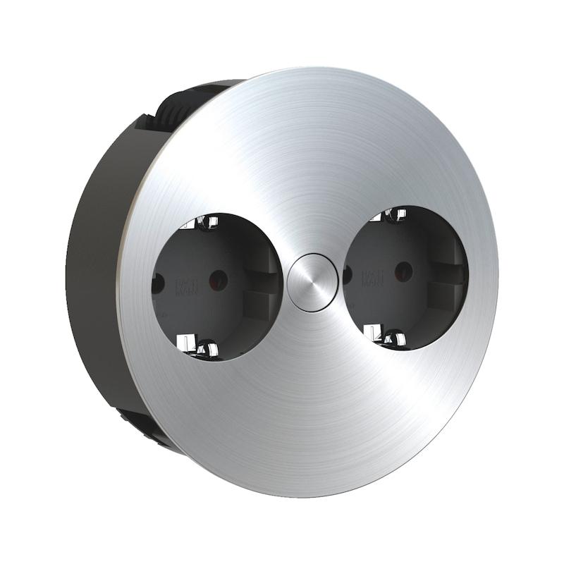 Einbausteckdose EST-2 - 1