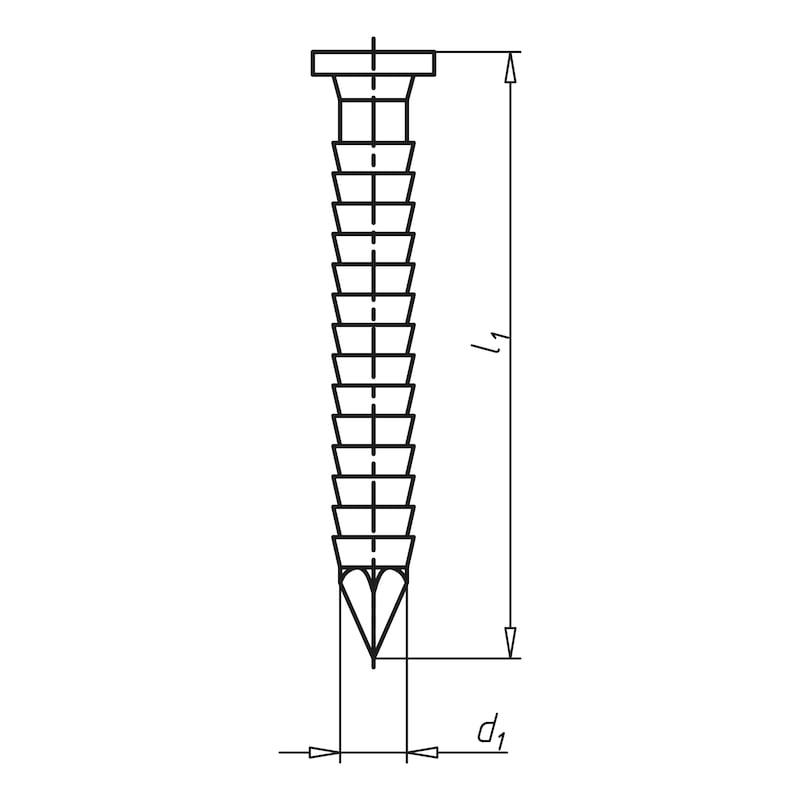 Ankernagel 26° - NGL-ANK-MG-(A2K)-4,0X50