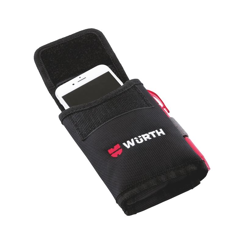 Tasca per smartphone Nylon - PORTA-CELLULARE-VERTICALE-95X30X170MM