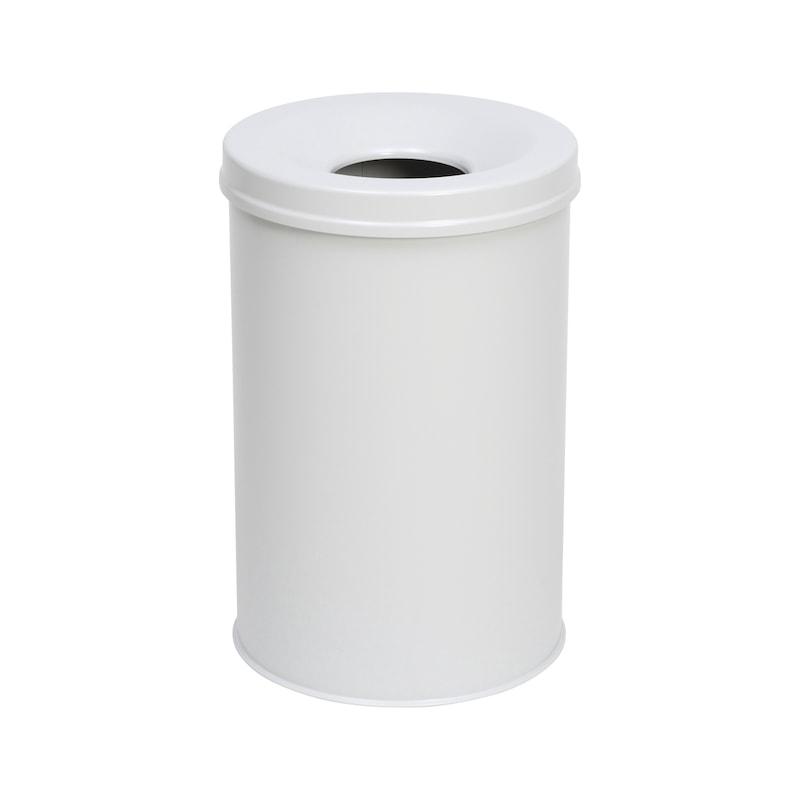 Papierkorb mit Flammenlöschkopf - 1