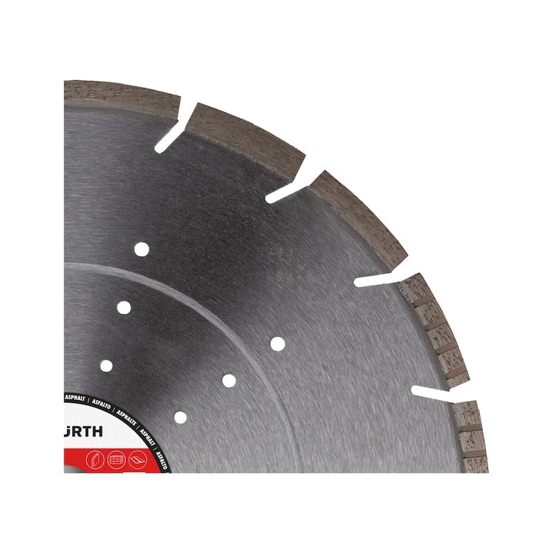 Diamond cutting disc, concrete/asphalt - KOTUC DIAMANTOVY BET/ASF BO25,4-D350MM