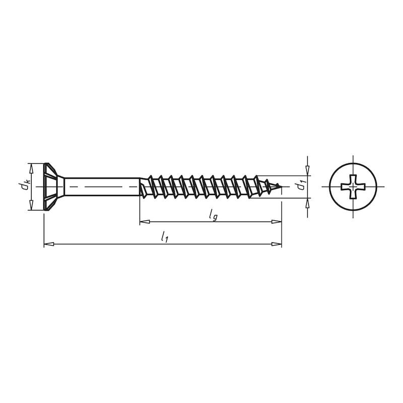 ECOFAST<SUP>®</SUP> Spanplattenschraube - 2