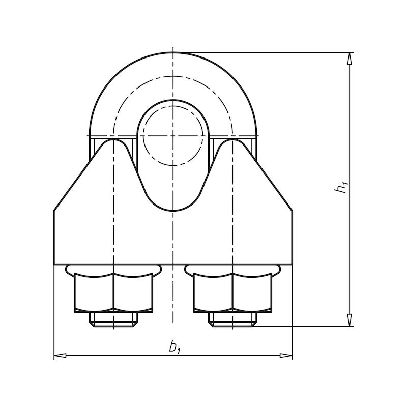 Collare fissacavo - 2