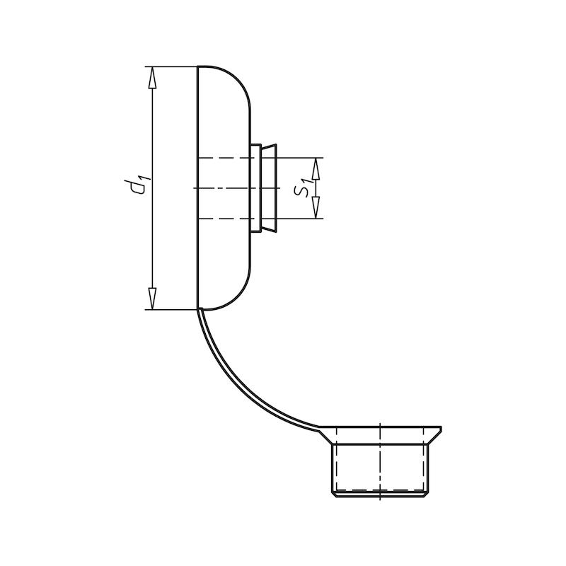 Kunststoff-Pilzdichtung - 2