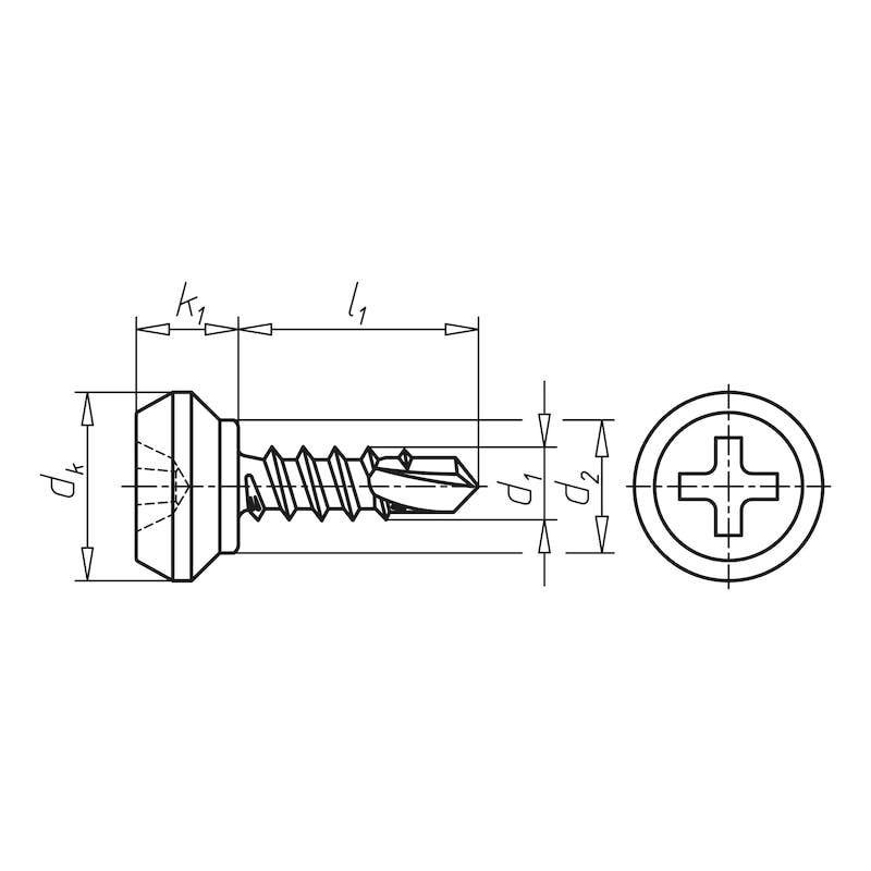 Nippelschraube - 2