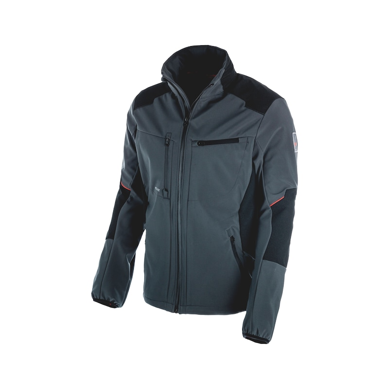 One softshell jacket - SOFTSHELL JACKET ONE ANTHRACITE M