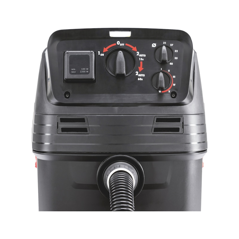 Industrial wet and dry vacuum cleaner ISS 40-M AUTOMATIC - 8
