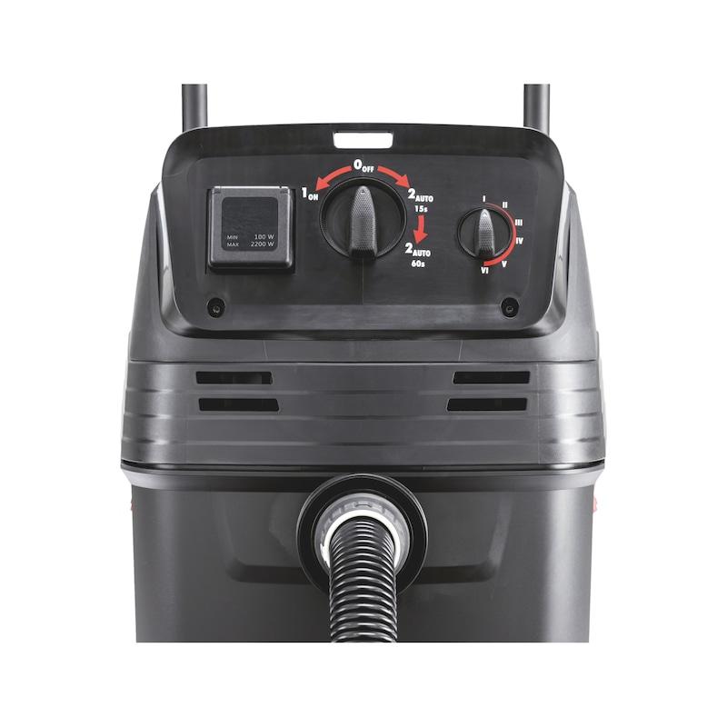 Aspirateur industriel eau et poussière ISS 50-L automatique - 8