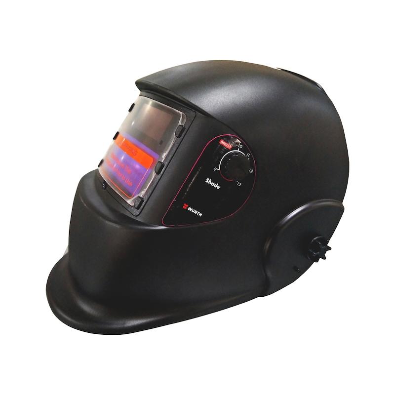 Black Vosarea Head-Mounted Transparent Welding Tool Welders Headset Anti-UV Masks Welding Helmets