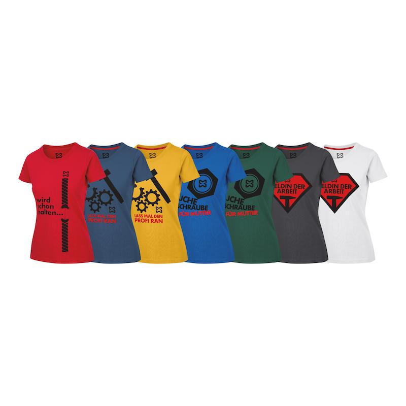 Arbeits T-Shirt Handwerk Damen - 2