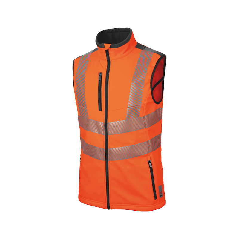 Neon Warnschutz Weste - WESTE NEON ORANGE XL
