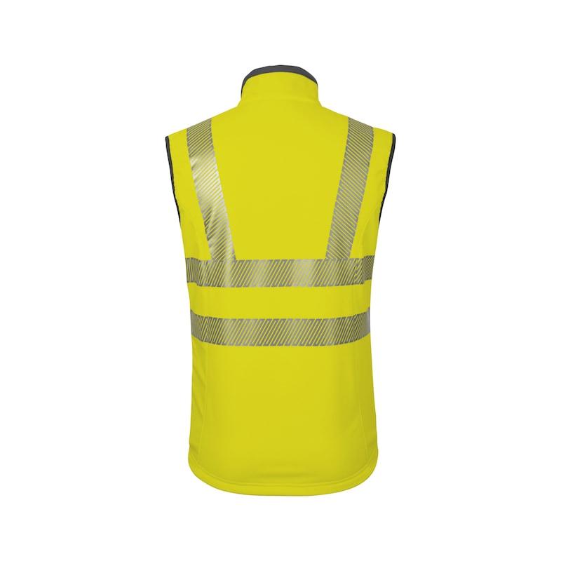 Neon Warnschutz Weste - WESTE NEON GELB 3XL