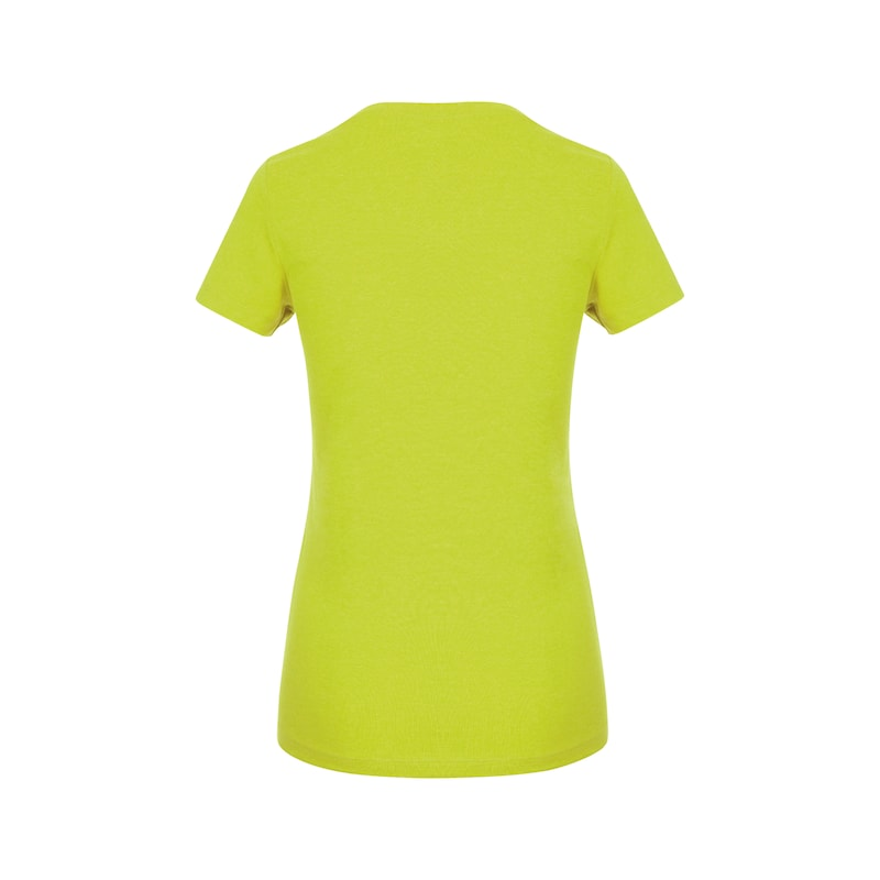 Arbeits T-Shirt Logo IV Damen - T-SHIRT LOGO IV DAMEN LIME XS