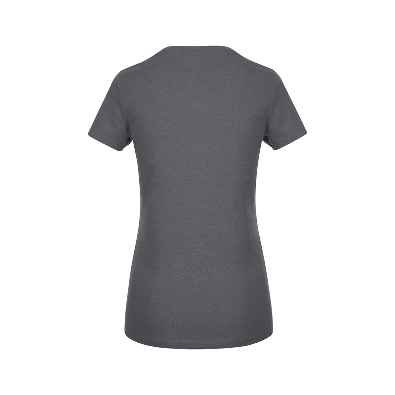 Arbeits T-Shirt Logo IV Damen - T-SHIRT LOGO IV DAMEN ANTHRAZIT XL