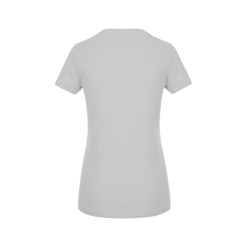 Arbeits T-Shirt Logo IV Damen - T-SHIRT LOGO IV DAMEN HELLGRAU L