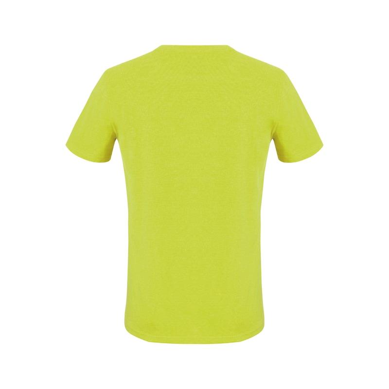 Arbeits T-Shirt Logo IV - T-SHIRT LOGO IV LIME XL