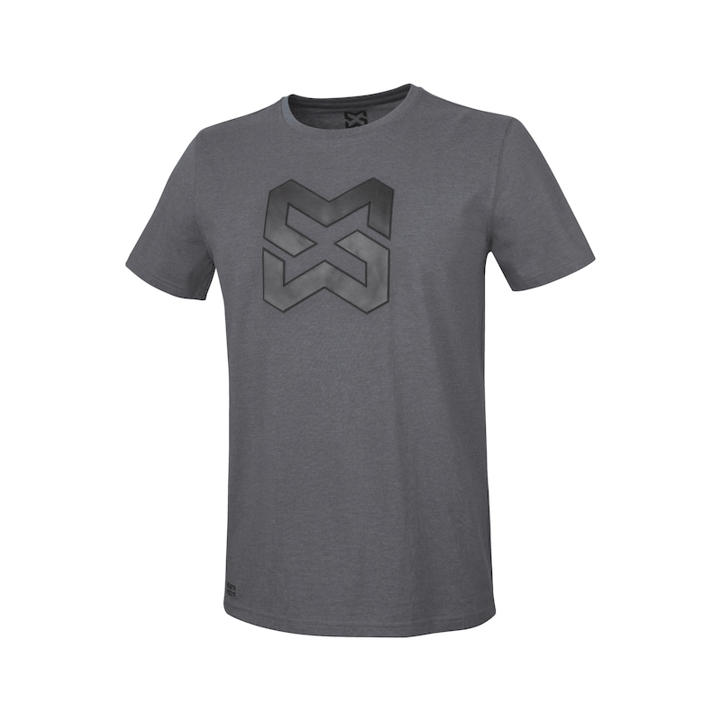 Arbeits T-Shirt Logo IV - T-SHIRT LOGO IV ANTHRAZIT S