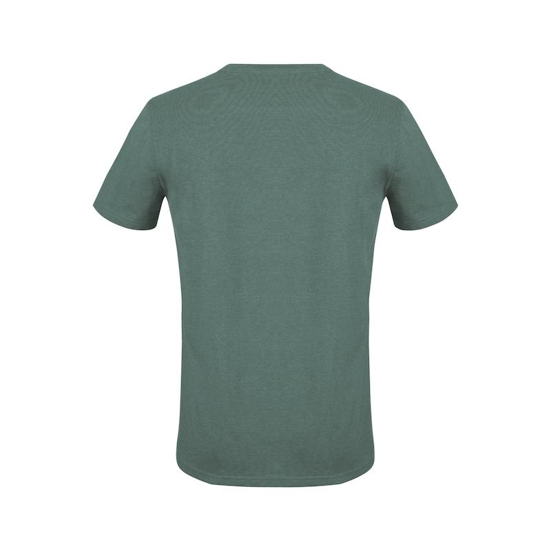 Arbeits T-Shirt Logo IV - T-SHIRT LOGO IV GRUEN XL