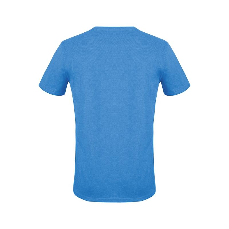 Arbeits T-Shirt Logo IV - T-SHIRT LOGO IV ROYALBLAU XL