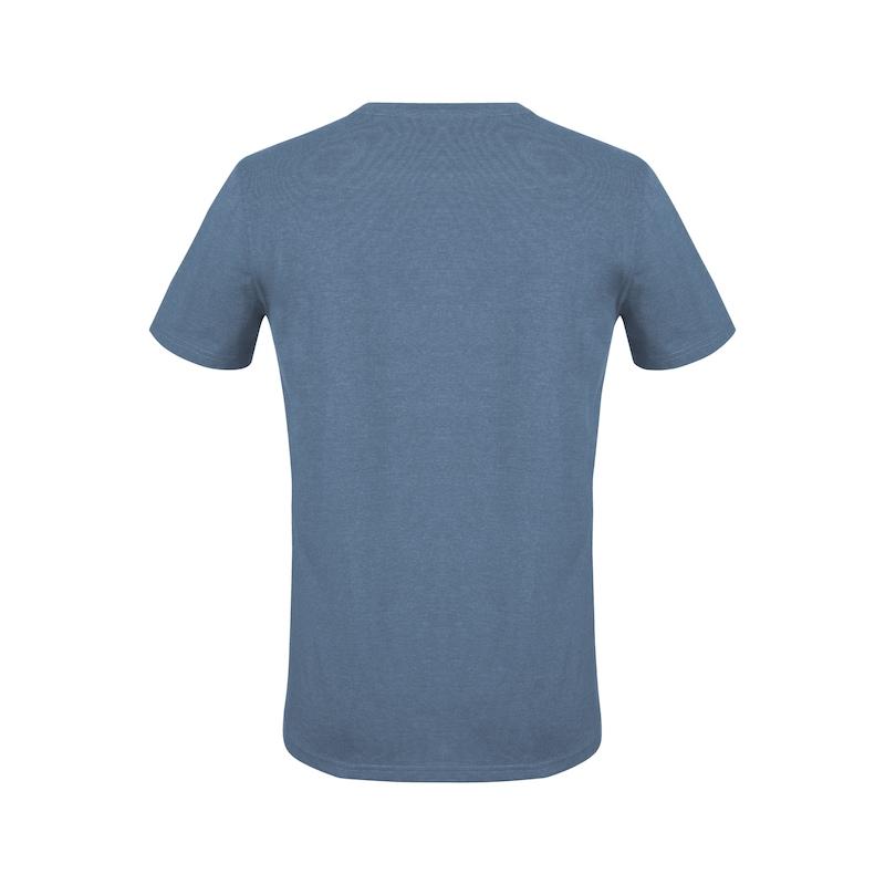 Arbeits T-Shirt Logo IV - T-SHIRT LOGO IV DUNKELBLAU XS