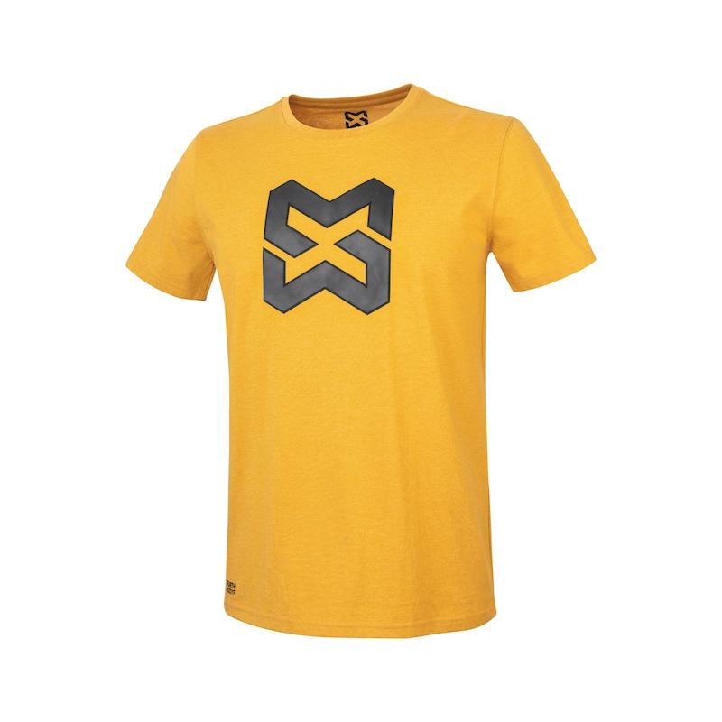 Arbeits T-Shirt Logo IV - T-SHIRT LOGO IV SENFGELB L