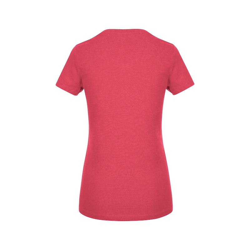 Arbeits T-Shirt Logo IV Damen - T-SHIRT LOGO IV DAMEN ROT XXL